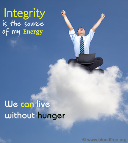 How Integrity Helps Be Hunger Free